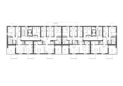 Tloris terasne etaže